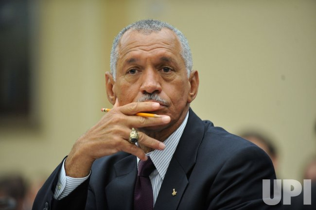 NASA Administrator Charles Bolden Jr. testifies on NASA in Washington