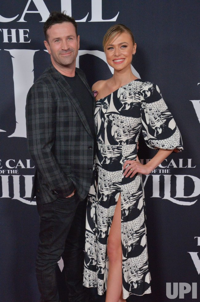 """Adam Fergus and Hayley Erin attend """"The Call of the Wild"""" premiere in Los Angeles"""