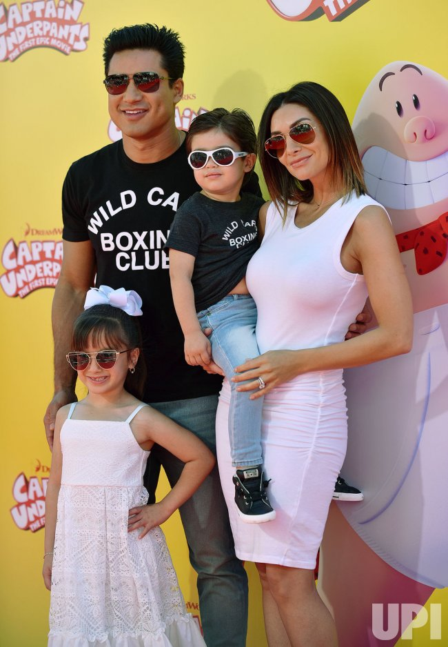 Mario Lopez And Family Attend The Los Angeles Premiere Of