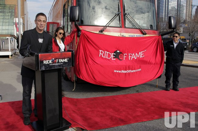 Tony Danza Honored by Prestigious Ride of Fame
