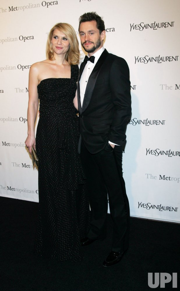 "Claire Danes and Hugh Dancy arrive for the Metropolitan Opera's Premiere of ""Le Comte Ory"" in New York"