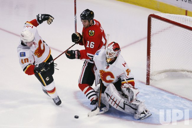 Stanley Cup Playoffs Round 1 Calgary Flames vs. Chicago Blackhawks