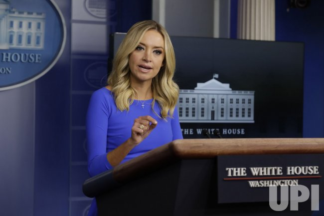 Press Secretary Kayleigh McEnany Hosts Briefing at White House