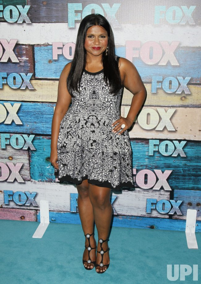 Mindy Kaling attends the Fox All-Star Party in Los Angeles