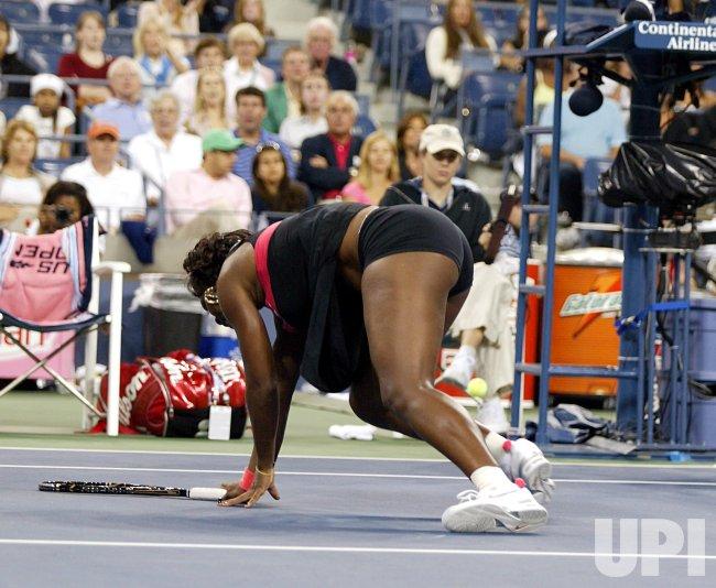 U.S. OPEN TENNIS ROUND ONE IN NEW YORK