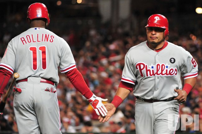Phillies' Carlos Ruiz scores in Washington