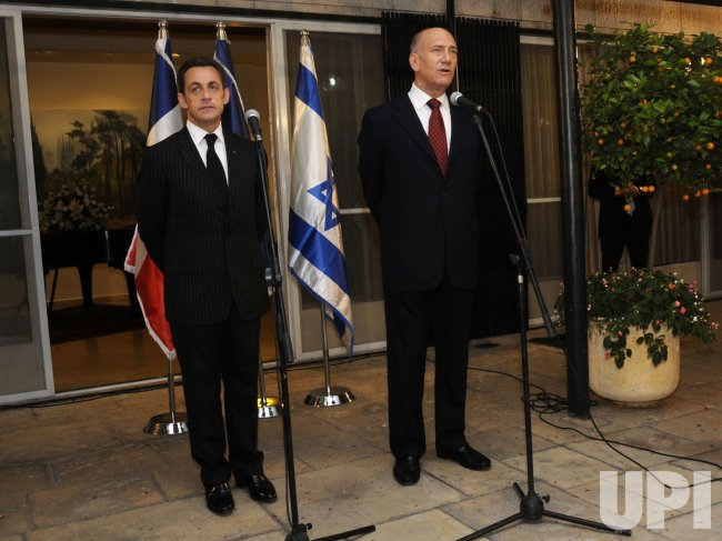 French President Sarkozy visits Jerusalem