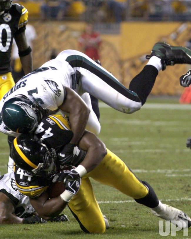 PITTSBURGH STEELERS VS PHILADELPHIA EAGLES