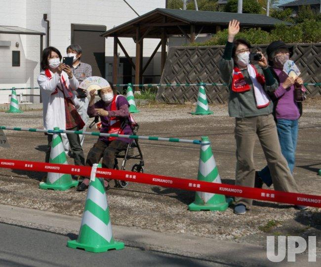 Tokyo 2020 Olympic Torch Relay in Kumamoto