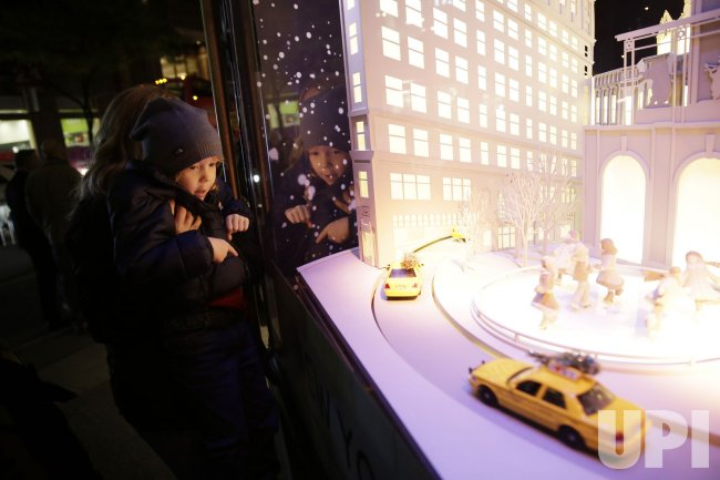 Lord & Taylor Holiday Window Unveiling in New York