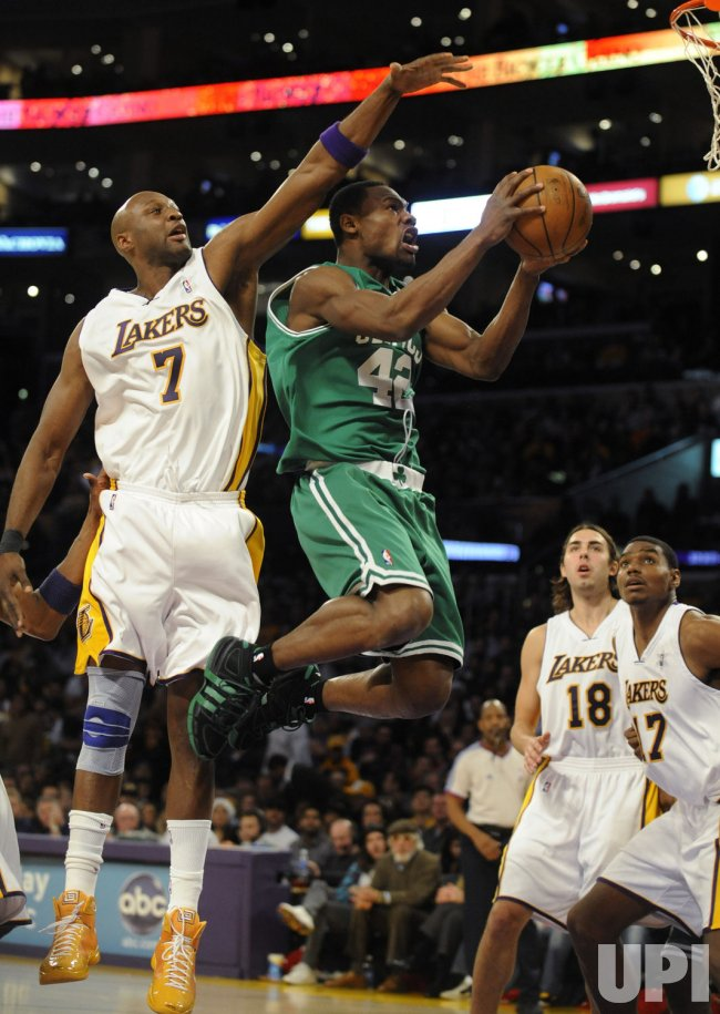 Boston Celtics vs Los Angeles Lakers in Los Angeles