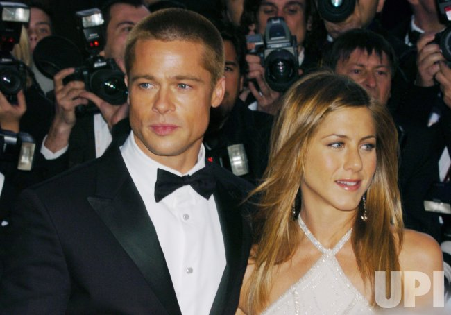 BRAD PITT & JENNIFER ANISTON AT THE CANNES FILM FESTIVAL