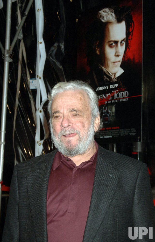 SWEENEY TODD FILM PREMIERE IN NEW YORK