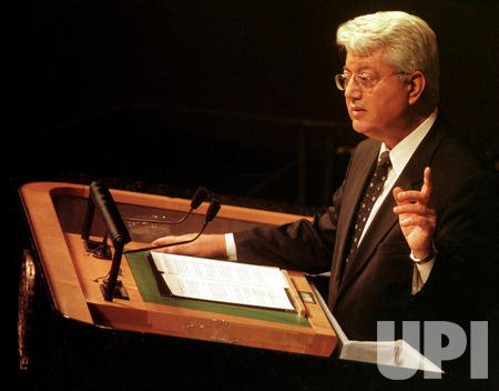 Israel addresses the U.N. General Assembly