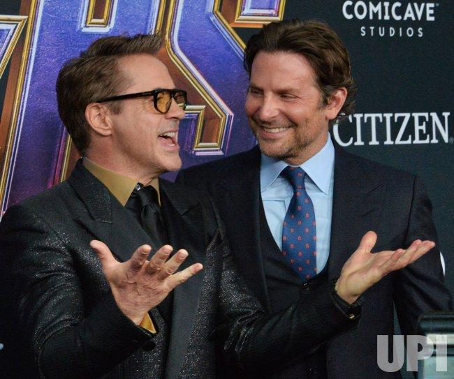 "Robert Downey Jr. and Bradley Cooper attend ""Avengers: Endgame"" premiere in Los Angeles"