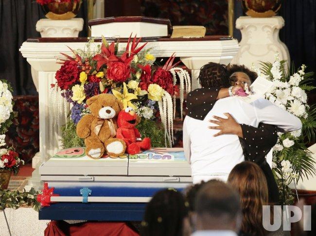 Funeral for 1-Year-Old Boy Killed by Gunfire in Brooklyn