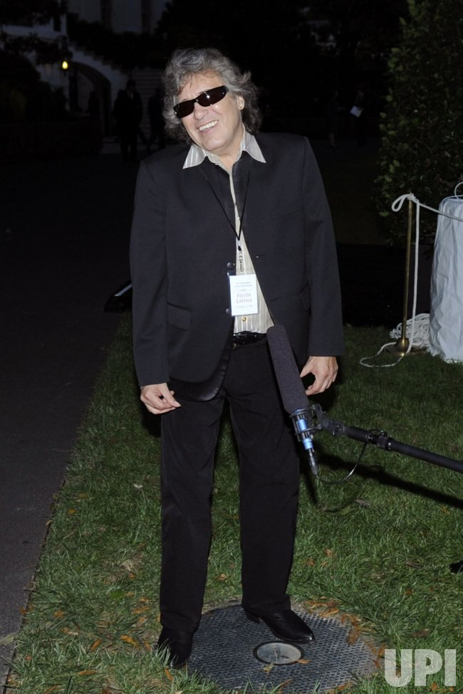 Jose Feliciano attends Fiesta Latina at the White House