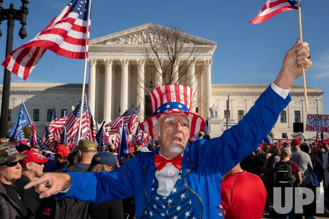 MAGA Rally Marches Their Way To The Supreme Court