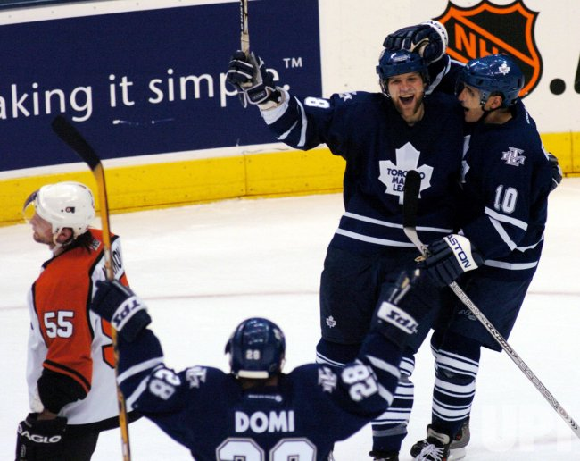 TORONTO MAPLE LEAFS vs PHILADELPHIA FLYERS, 2ND ROUND NHL PLAYOFFS