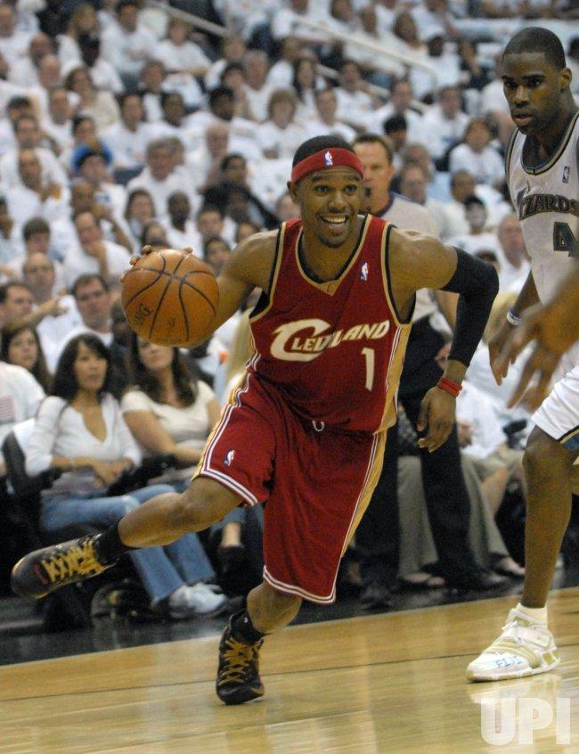 NBA Playoffs Cleveland Cavaliers vs Washington Wizards in Washington