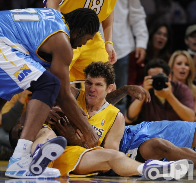 Los Angeles Lakers vs Denver Nuggets Game 2 in Western ...