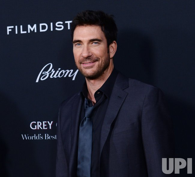 "Dylan McDermott attends the ""Olympus Has Fallen"" premiere in Los Angeles"