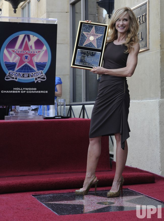 Actress Holly Hunter receives star on Hollywood Walk of Fame in Los Angeles