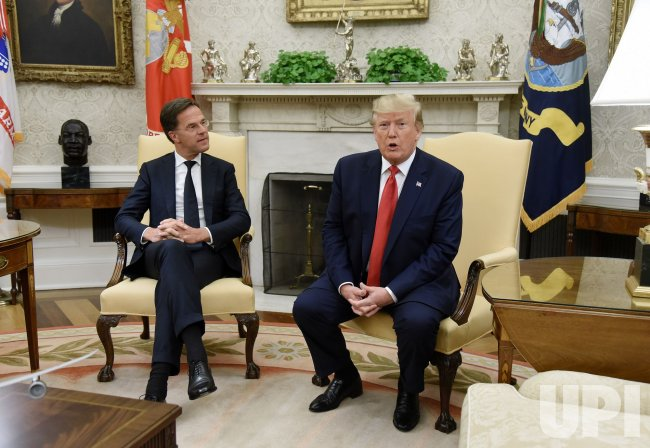 President Trump meets with Prime Minister Mark Rutte of the Netherlands