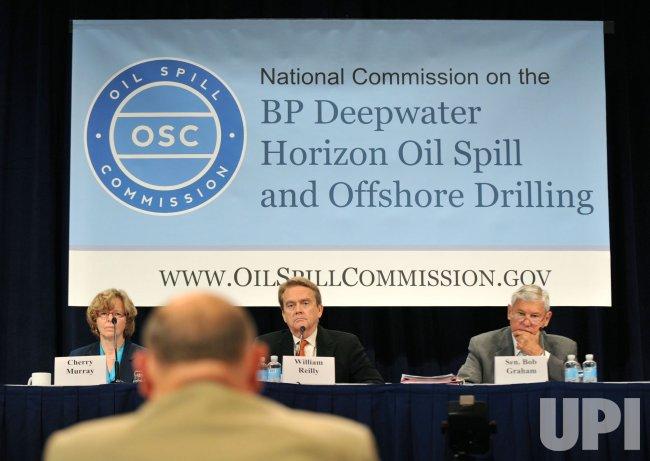 Ret. Adm. Thad Allen testifies on the Gulf oil spill response in Washington