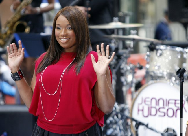 Jennifer Hudson Performs on the NBC Today Show in New York
