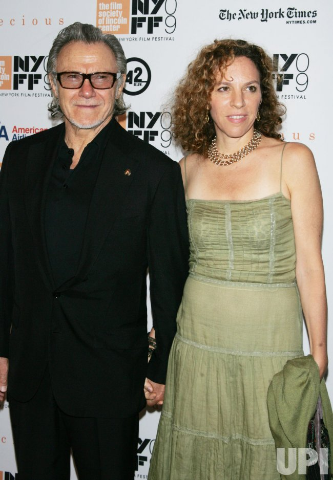 "Harvey Keitel arrives at the New York Film Festival premiere of ""Precious"" in New York"