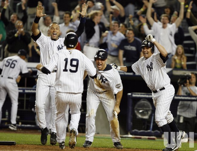Minnesota Twins at New York Yankees at Yankee Stadium in New York