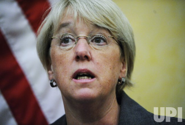 Sen. Murray calls on Republicans to support health care reform on Capitol Hill in Washington