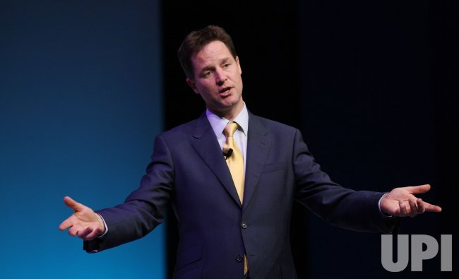 Liberal Democrat Leader Nick Clegg campaigns in Bournemouth
