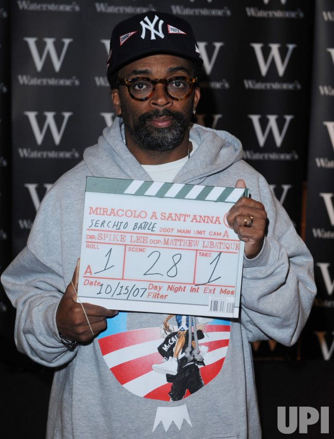 Spike Lee booksigning in London