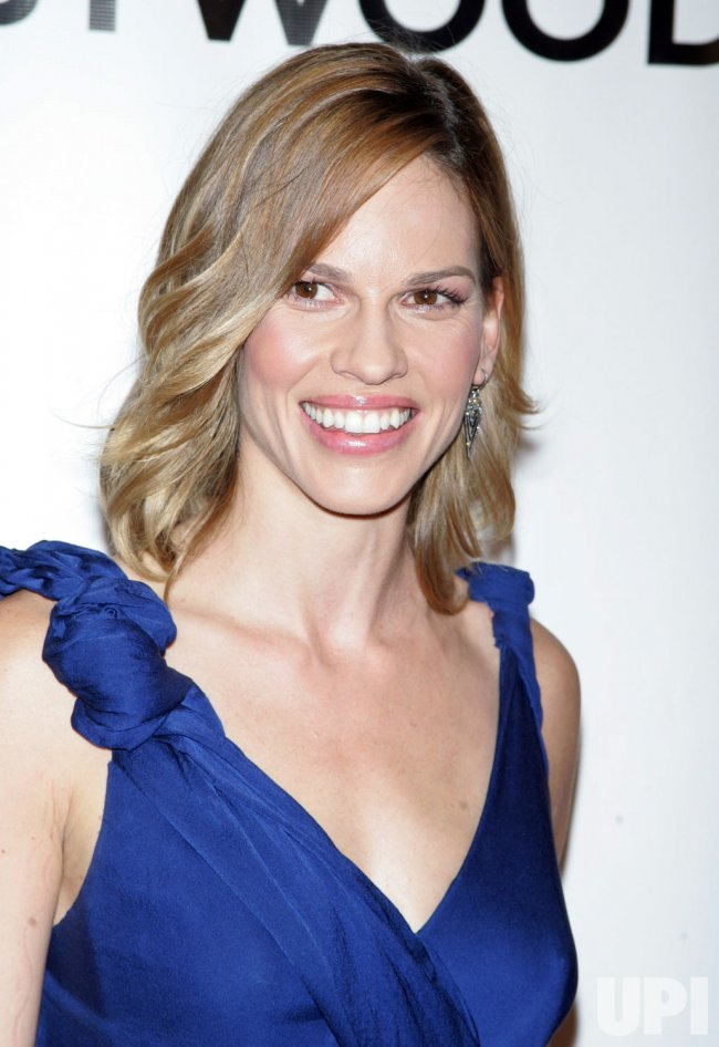 """Hilary Swank arrives for the Museum of the Moving Image Salute to Clint Eastwood and Special Advance Screening of """"Invictus"""" in New York"""
