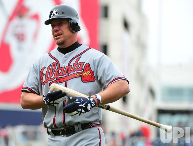 Braves' Chipper Jones in Washington