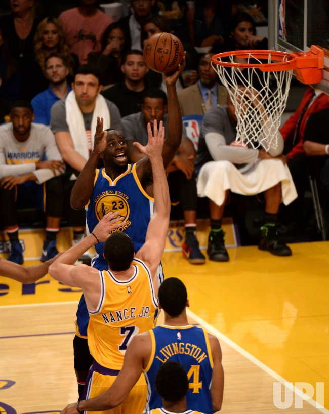 Los Angeles Lakers vs. Golden State Warriors in Los Angeles