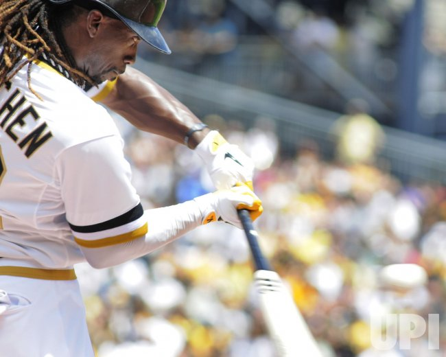 Pittsburgh Pirates Andrew McCutchen (22) in Pittsburgh