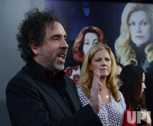 "Tim Burton attends the ""Dark Shadows"" premiere in Los Angeles"
