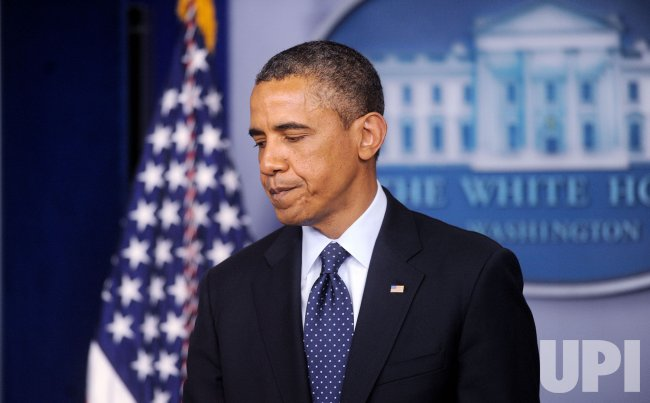 President Obama makes a statement after explosions in Boston