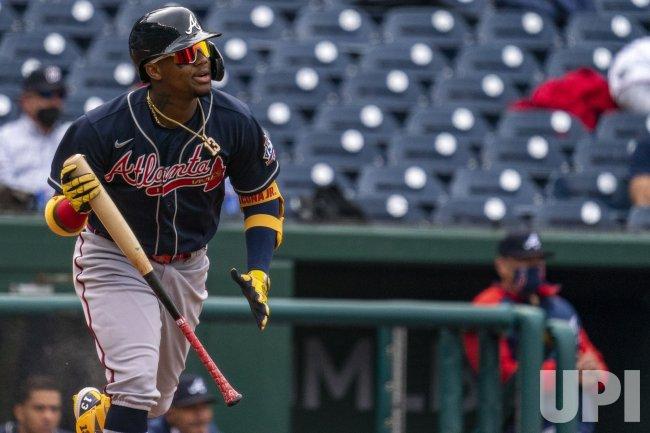 Atlanta Braves right fielder Ronald Acuna