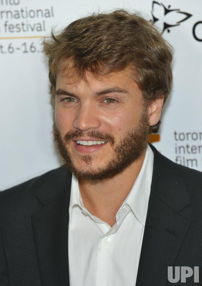 Emile Hirsch attends 'Twice Born' world premiere at the Toronto International Film Festival