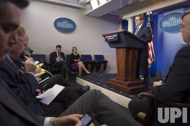 White House Press Briefing in Washington