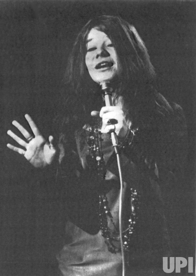 Blues Singer Janis Joplin