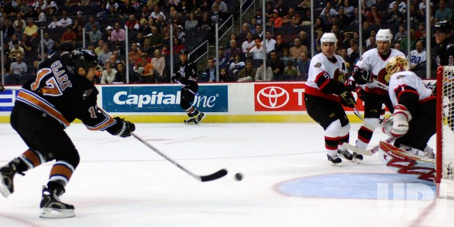 OTTAWA SENATORS AT WASHINGTON CAPITALS