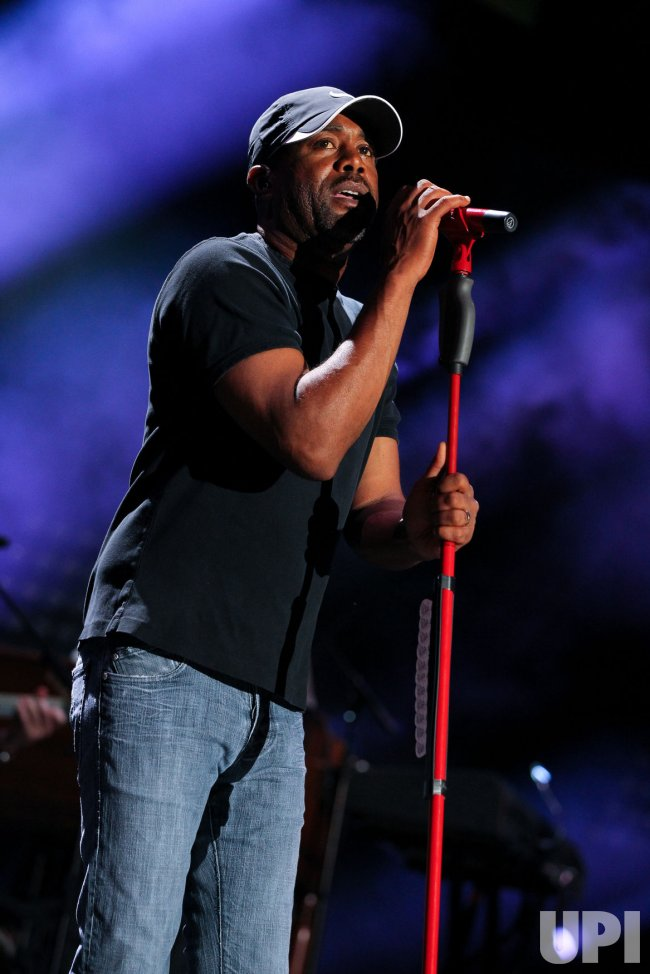 Darius Rucker performs at the CMA Music Festival in Nashville