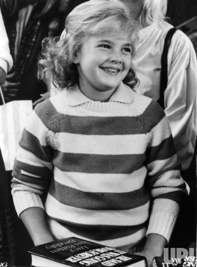 Drew Barrymore at age 9