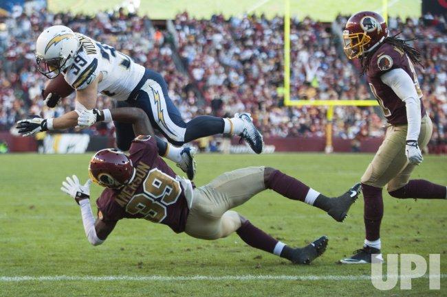San Diego Chargers vs. Washington Redskins