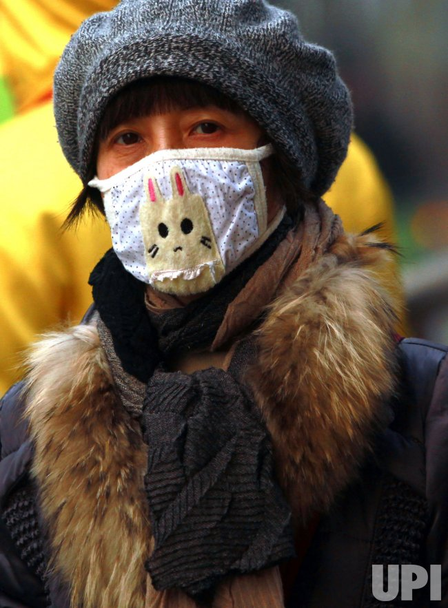 Heavy pollution hangs over Beijing